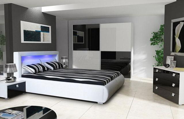 Дизайн мебели черно белый